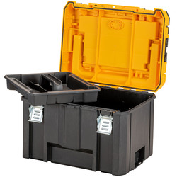 DeWalt TSTAK 2.0 Deep Organiser Top & High Capacity Organiser Combo