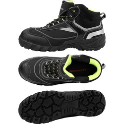 Work-Guard Blackwatch Safety Boots Size 10 - 31137 - from Toolstation