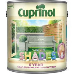 Cuprinol Cuprinol Garden Shades Exterior Paint 2.5L Willow - 31147 - from Toolstation