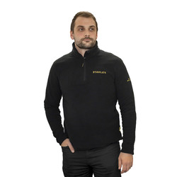 Stanley Stanley Gadsden 1/4 Zip Microfleece Large - 31157 - from Toolstation