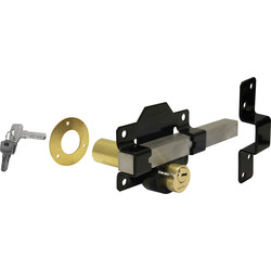 Long Throw Gate Lock Double Locking 70mm - 31177 - from Toolstation