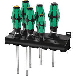 Wera Wera Kraftform Plus Lasertip Screwdriver Set  - 31180 - from Toolstation
