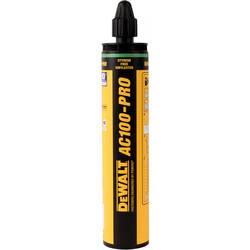 DeWalt DeWalt AC100-PRO Vinylester Resin 300ml - 31236 - from Toolstation
