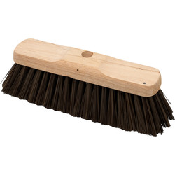 "Hill Brush Company Soft Sweeping Broom Head 12"" (305mm) - 31283 - from Toolstation"