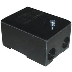 Unbranded Service Connector Block 100A Double Pole - 31284 - from Toolstation