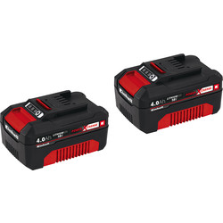 Einhell Einhell PXC 18V Battery Twin Pack 2 x 4.0Ah - 31288 - from Toolstation