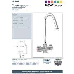 Deva Converse Mono Mixer Kitchen Tap
