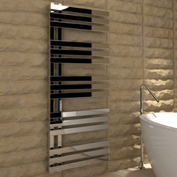 Kudox Tevas Designer Chrome Towel Radiator