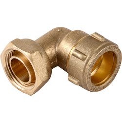 "Conex Banninger Conex 403SF Compression Bent Tap Connector 22 x 3/4"" - 31440 - from Toolstation"