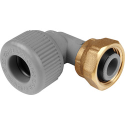 Unbranded Bent Tap Connector 15mm - 31547 - from Toolstation