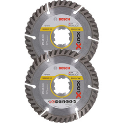 Bosch Diamond Blade Twinpack 115 x 22.23mm
