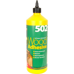 Everbuild Interior & Exterior PVA Wood Glue 1L - 31670 - from Toolstation