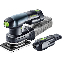 Festool Festool RTSC 400 Li 18V Li-Ion Cordless Orbital Sander 2 x 3.1Ah - 31742 - from Toolstation