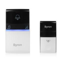 Byron Kinetic Wireless Plug In Doorbell