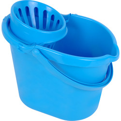 Hill Brush Company Plastic Mop Bucket 12L - 31969 - from Toolstation