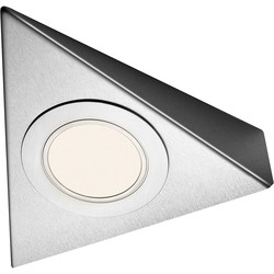 Sensio Sensio LED Low Voltage Triangle Under Cabinet Light 24V Warm White 80lm fitting only - 31994 - from Toolstation