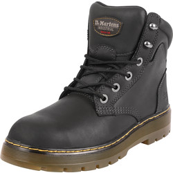 Dr Martens Dr Martens Brace Safety Boots Black Size 8 - 32038 - from Toolstation