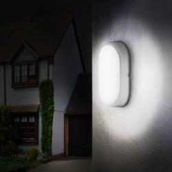 Luceco Eco LED Oval Bulkhead IP54