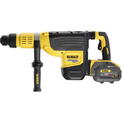 DeWalt DeWalt DCH773 54V XR FlexVolt 52mm 10Kg SDS-Max Rotary Hammer Drill 2 x 12.0Ah - 32129 - from Toolstation