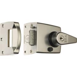 ERA ERA BS High Security Nightlatch Satin Nickel Standard - 32222 - from Toolstation