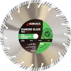 Abracs Abracs Specialist Diamond Blade HCM Pro 300 x 20mm - 32293 - from Toolstation