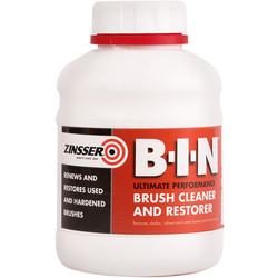 Zinsser Zinsser BIN Brush Cleaner & Restorer 500ml - 32316 - from Toolstation