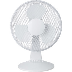 "Unbranded Desk Fan 12"" 3 Speed 30W - 32354 - from Toolstation"