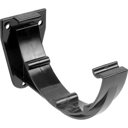 Aquaflow 150mm Fascia Bracket Black - 32458 - from Toolstation