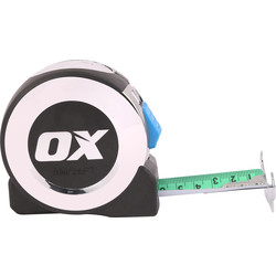 OX OX Pro Metric Imperial Tape Measure 8m - 32478 - from Toolstation