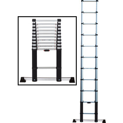 Werner Telescopic Extension Ladder 3.2m - 32479 - from Toolstation