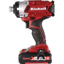 Einhell Einhell Power X-Change TE-CI 18V Li-Ion Cordless Impact Driver 1 x 1.5Ah - 32561 - from Toolstation