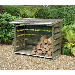 Forest Forest Garden Woodstore Large 129cm (h) x 183cm (w) x 88cm (d) - 32595 - from Toolstation