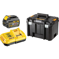 DeWalt DeWalt 54V FlexVolt Battery Starter Kit 1 x 6.0Ah - 32686 - from Toolstation