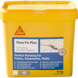 Sika PaveFix Plus Jointing Compound Grey 14kg