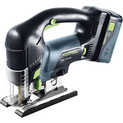 Festool Festool PSBC 420 18V Li-Ion Cordless Jigsaw 1 x 5.2Ah - 32709 - from Toolstation