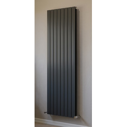 Ximax Ximax Oxford Duo Designer Radiator 1800 x 595mm 6041Btu Anthracite - 32727 - from Toolstation