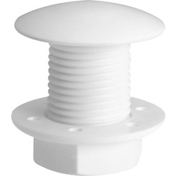 Cistern Stopper White - 32757 - from Toolstation