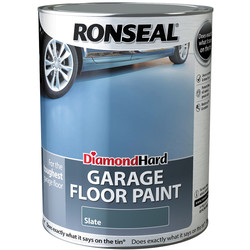 Ronseal Ronseal Diamond Hard Garage Floor Paint Slate 5L - 32891 - from Toolstation