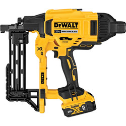 DeWalt DeWalt DCFS950 18V XR Brushless Fencing Stapler 2 x 5.0Ah - 32921 - from Toolstation