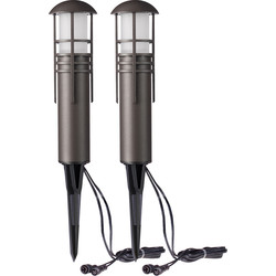 Duracell Duracell Post LV LED Garden Pathway Light IP44 100lm - 32988 - from Toolstation