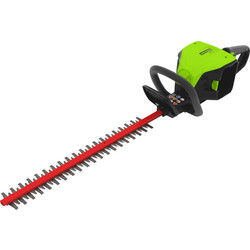 Greenworks 60V Cordless Hedge Trimmer with Battery & Charger