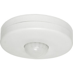 Eterna Ceiling Mounted  PIR 360° White - 33267 - from Toolstation