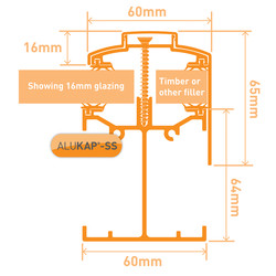 Alukap-SS Self Support Gable Bar