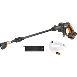 Worx Worx WG629E 20V MAX Li-Ion Hydroshot Cordless Pressure Washer 1 x 2.0Ah - 33449 - from Toolstation