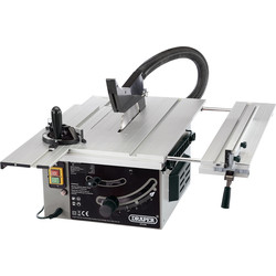 Draper Draper 250mm 1800W Sliding Table Saw 230V - 33456 - from Toolstation
