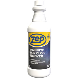 Zep Zep Commercial 10 Minute Hair Clog Drain Unblocker 1L - 33474 - from Toolstation