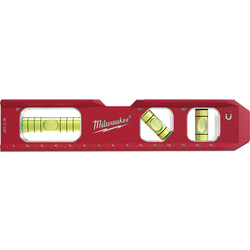 Milwaukee Milwaukee Magnetic Billet Torpedo Spirit Level 150mm - 33518 - from Toolstation