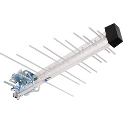 Compact Log Periodic TV Aerial 22 Element - 33634 - from Toolstation
