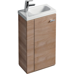 Ideal Standard Ideal Standard Senses Space Basin & Unit Left Hand American Oak - 33657 - from Toolstation