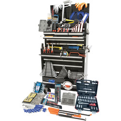 Hilka Hilka Tool Kit in Pro Chest & Cabinet 489 Piece  - 33772 - from Toolstation